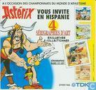 Asterix 4 sérigraphies d'art: Vous invite en Hispannie