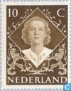 Postage Stamps - Netherlands [NLD] - Inauguration Queen Juliana