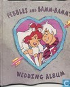 Pebbles and Bamm-Bamm`s wedding album