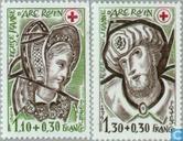 1979 Vitraux de l'église Jeanne d'Arc à Rouen (FRA 1029)