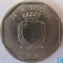Malta 5 cents 1995
