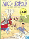 Comic Books - Alice en Leopold - De grote witte olifant