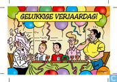 Verjaardagskaart Fameuze Fanclub