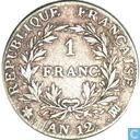 France 1 franc AN 12 (MA)