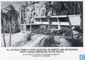 Tracy family living quarters on remote mysterious Tracy Island somewhere in the Pacific.