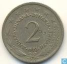 Joegoslavië 2 dinara 1973
