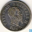 Italië 50 centesimi 1863 (N BN)