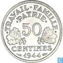 Frankrijk 50 centimes 1944 (C)