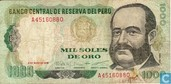 Pérou 1000 Soles de Oro