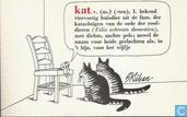 Kat, v. (m) ...