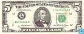 United States 5 dollars 1981 L