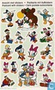 Diverse Disney ansicht met stickers