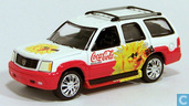 Model cars - Johnny Lightning - Cadillac Escalade 'Coca-Cola'