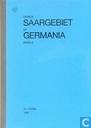 Opdruk Saargebiet op Germania zegels