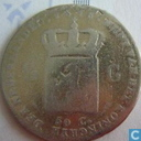 Netherlands ½ gulden 1818