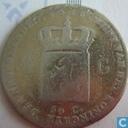 Pays Bas ½ gulden 1818