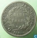 Frankrijk ½ franc 1808 (L)