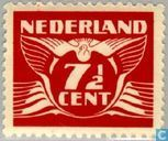Timbres-poste - Pays-Bas [NLD] - Pigeon volant