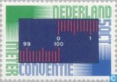 Postage Stamps - Netherlands [NLD] - 100 years Meter Convention