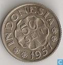 Indonésie 50 sen 1957
