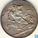 United Kingdom 1897 1 crown