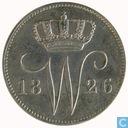 Niederlande 25 Cent 1826 (B)