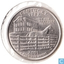 "United States ¼ dollar 2001 (P) ""Kentucky"""