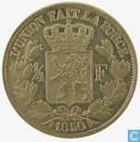 Belgium 1 / 4 Franc 1850