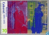 Timbres-poste - Pays-Bas [NLD] - Cabaret 1895-1995