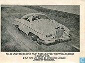 Lady Penelope's FAB 1 rolls royce. The world's most elegant car.