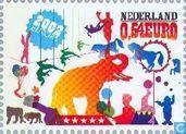 Briefmarken - Niederlande [NLD] - Europa – Das Zirkus