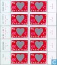 Klettband-Briefmarken