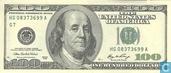 Dollars des États-Unis 100 2006 G