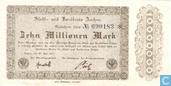 Aachen 10 Miljoen Mark 1923