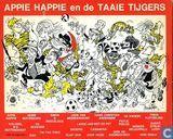 Bandes dessinées - Appie Happie - Afspraak is afspraak + Met oude Wout in de zesdaagse van Louloenersloot + Twee ogen zo blauw