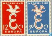 Europe – Lettre E et colombe