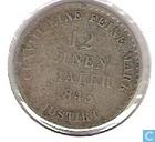 Monnaies - Hanovre - Hanovre 1/12 thaler 1843