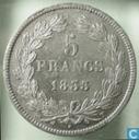 Frankrijk 5 francs 1833 (T)