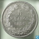 France 5 francs 1833 (T)