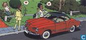 Ansichtkaart Volkswagen Karmann Ghia