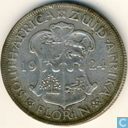 South Africa 1 florin 1924