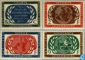 1955 UN 10 years (LUX 112)