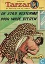 Comic Books - Tarzan of the Apes - De stad bestormd door wilde dieren
