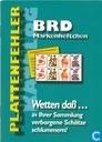 Plattenfehler Katalog BRD Markenheftchen