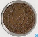 Cyprus 5 mils 1973