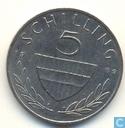 Oostenrijk 5 schilling 1989