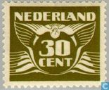 Briefmarken - Niederlande [NLD] - Flying Pigeon