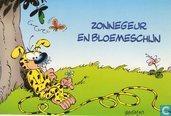 Zonnegeur en bloemeschijn