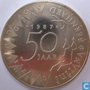 Coins - the Netherlands - Netherlands 50 gulden 1987