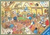 Jigsaw puzzles - Billiards - Biljarten